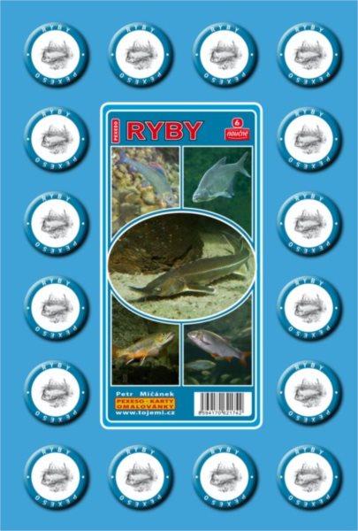 Rodinná hra Pexeso: Sladkovodní ryby
