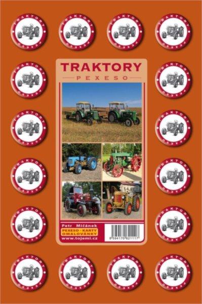 Rodinná hra Pexeso: Traktory