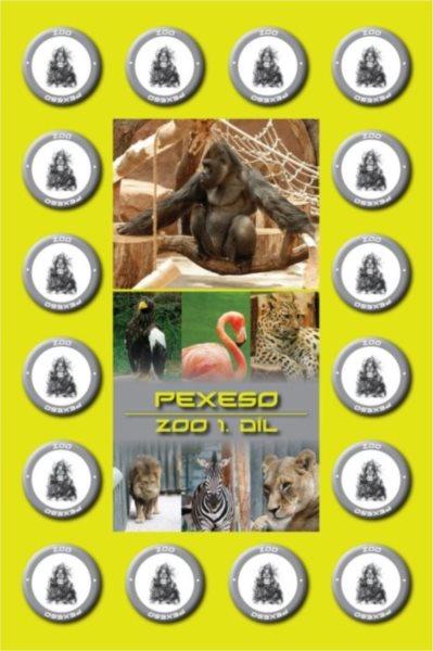 Rodinná hra Pexeso: ZOO