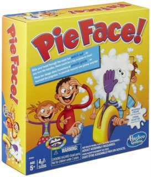 Společenská hra Pie Face, HASBRO
