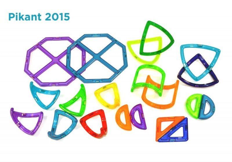 Magnetická stavebnice MAGFORMERS Pikant 2015, 20 dílků