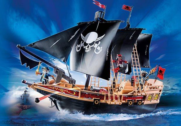 Playmobil 6678 Pirátská bitevní loď