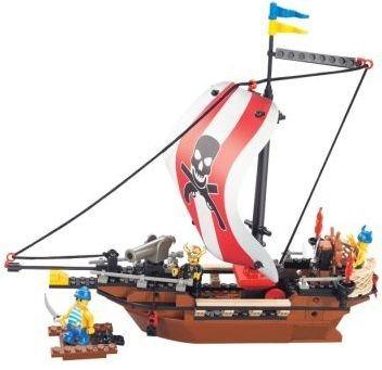 Stavebnice SLUBAN Pirátská loď