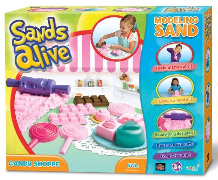 Písek Sands Alive Cukrárna