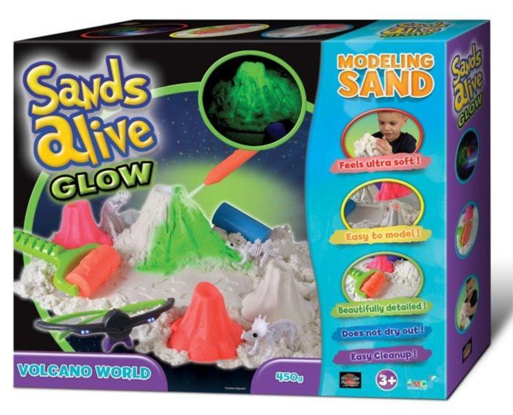 Písek Sands Alive GLOW - Sopka