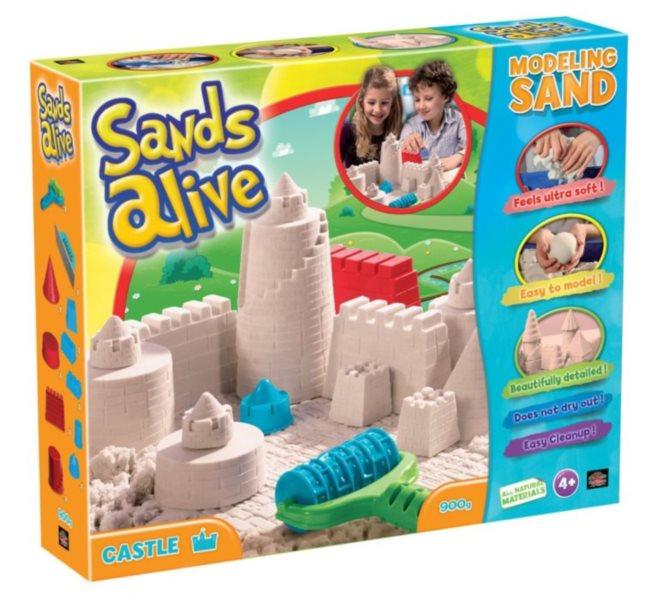 Písek Sand Alive Hrad