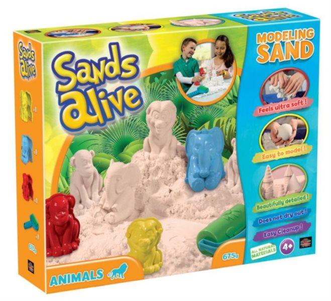 Písek Sands Alive Zvířátka