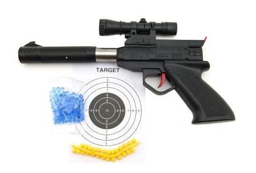 TEDDIES Pistole na vodní a gumové kuličky s příslušenstvím
