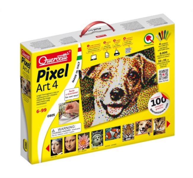 Pixel Art QUERCETTI 6.800 dílků