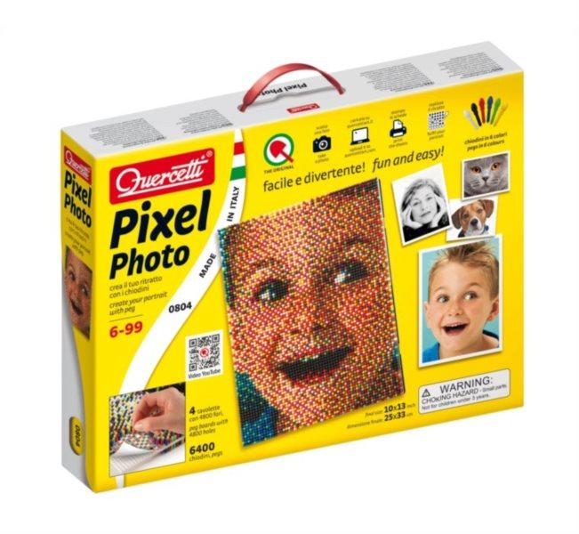 poškozený obal: Pixel Photo QUERCETTI 6.400 dílků