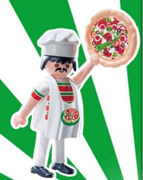 Playmobil 9241 Figurky pro kluky - Pizzař (série 12)