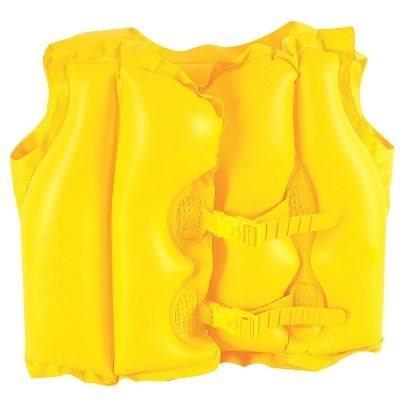 Intex Plavecká vesta - žlutá