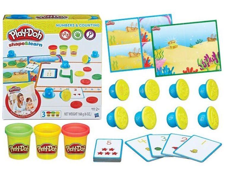 PLAY-DOH: Modelujte a učte se - Čísla a počítání