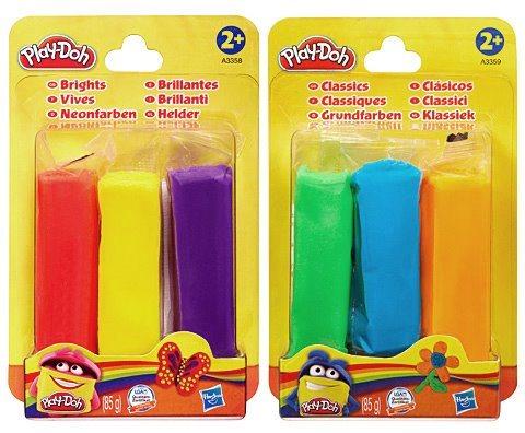 Play-Doh: Náhradní náplně 3 barvy (mix)