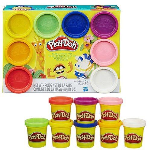 Play-Doh: Sada 8 kelímků (základní barvy)