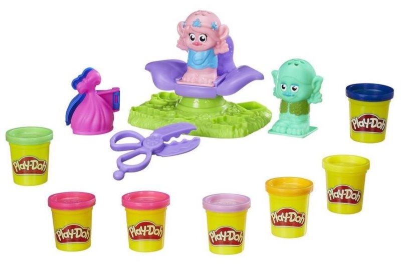 Play-Doh: Vlasový salón u Trollů