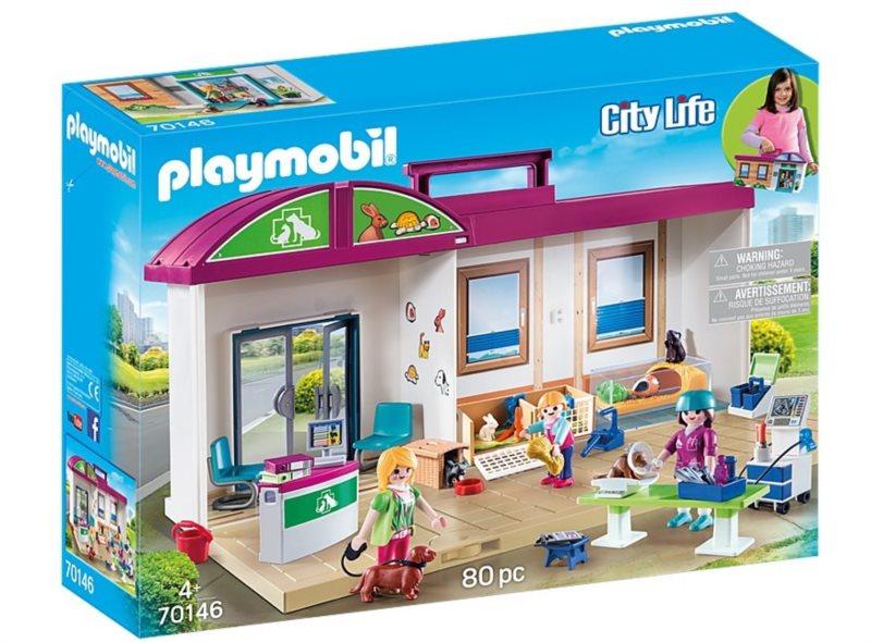 PLAYMOBIL® City Life 70146 Přenosná veterinární klinika