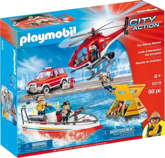 PLAYMOBIL® City Action 9319 Hasičská záchranná mise