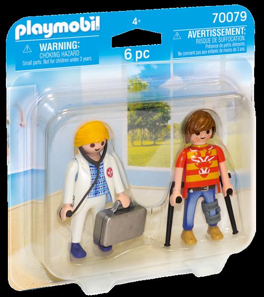 PLAYMOBIL® City Life 70079 Lékařka a pacient