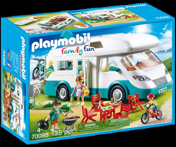 PLAYMOBIL® Family Fun 70088 Rodinný karavan