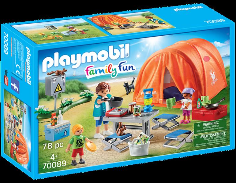 PLAYMOBIL® Family Fun 70089 Rodinné kempování