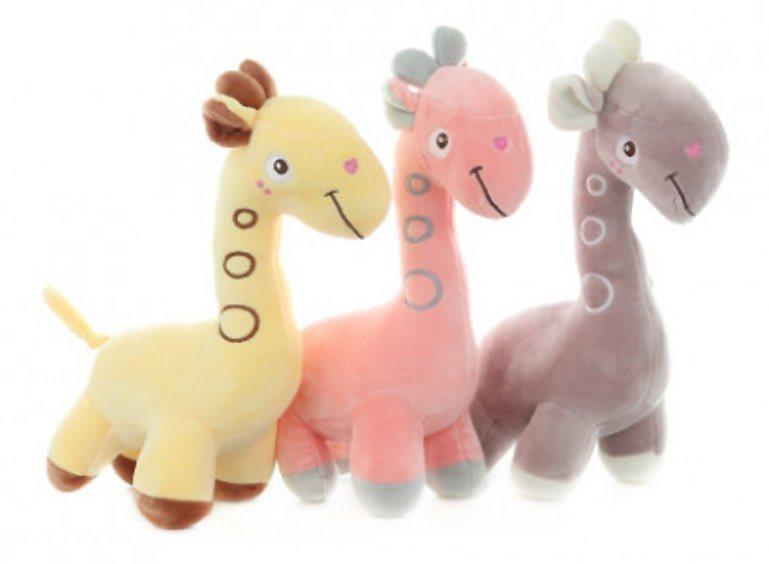 Plyšová žirafa 30 cm (mix)