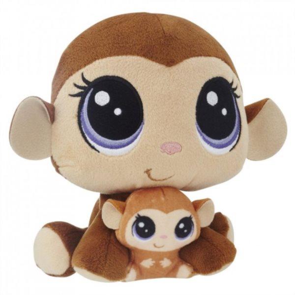 LPS Plyšová zvířátka: Mona a Merry Junglevine 16 cm