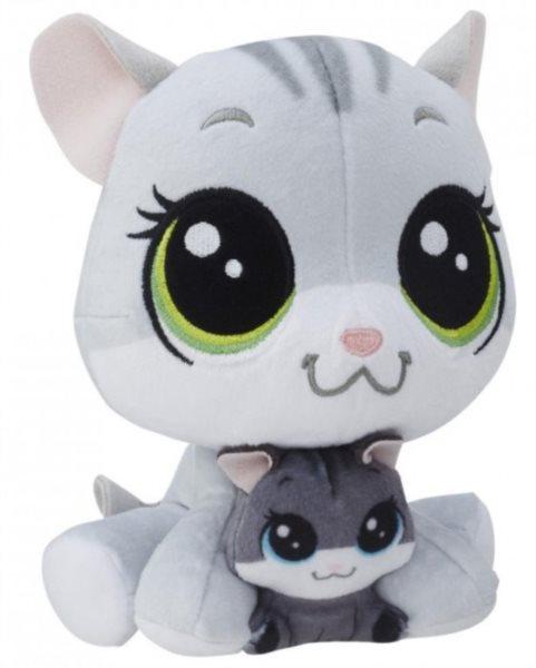 LPS: Plyšová zvířátka: Tabsy a Holiday Felino 16 cm