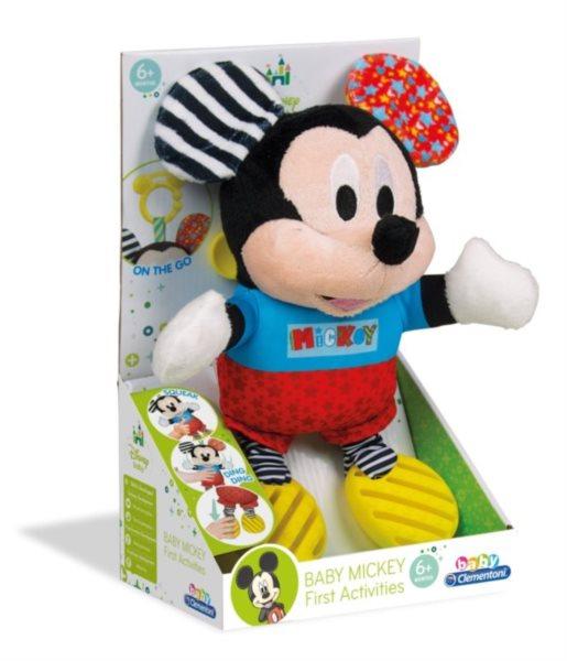 BABY CLEMENTONI, Plyšový Mickey Mouse s úchytem
