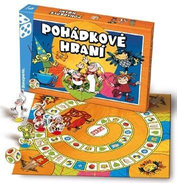 Společenská hra Pohádkové hraní Večerníček, BONAPARTE