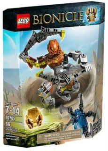 Stavebnice LEGO® Bionicle 70785 Pohatu – Pán kamene