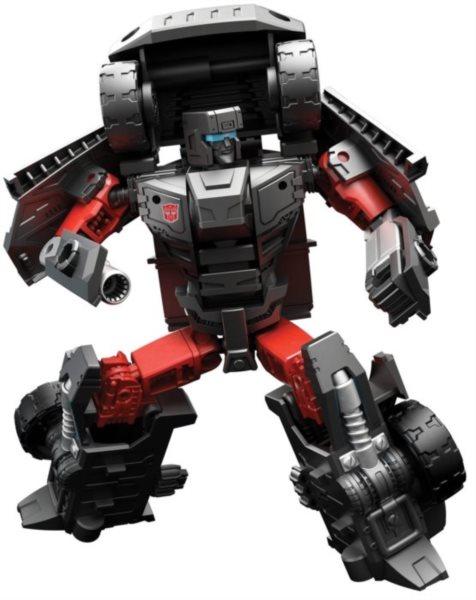 HASBRO Pohyblivý Transformers: Trailbreaker