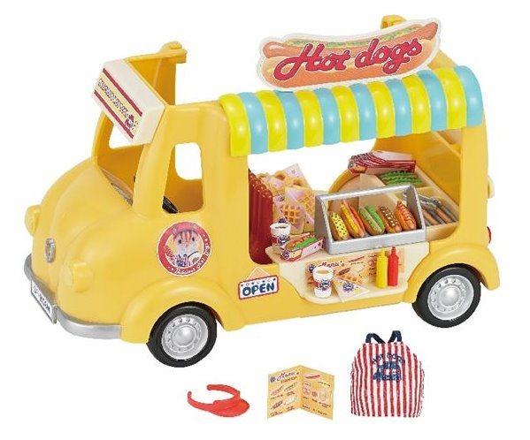 Sylvanian Families 5240 Pojízdný obchod s hot-dogy