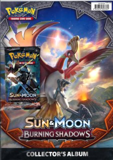 Pokémon: Papírové album A4 Sun and Moon - Burning Shadows