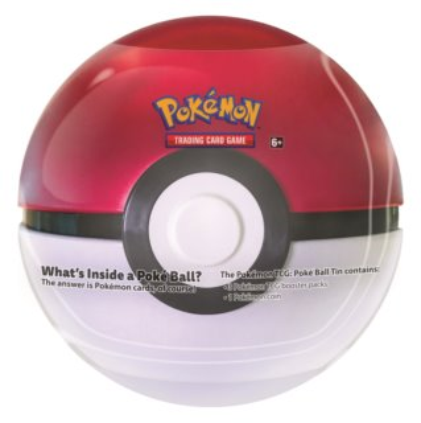 Pokémon Pokéball Tin - červený