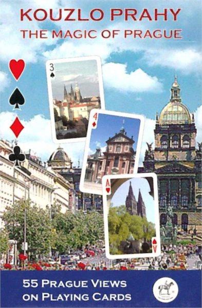 Hrací karty Poker, Bridge - Kouzlo Prahy, PIATNIK
