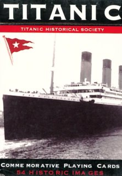Hrací karty Poker, Bridge - Titanic, PIATNIK