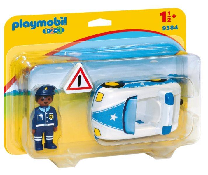 PLAYMOBIL Policejní auto 9384