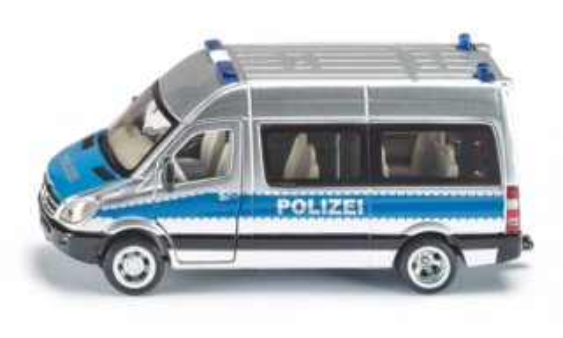 Policejní minibus Mercedes (1:50)
