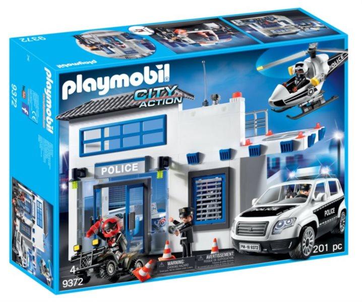 Playmobil 9372 Policejní stanice