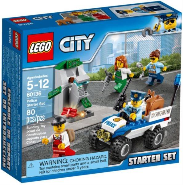 Stavebnice LEGO® City Policie Startovací sada 60136