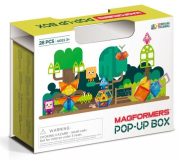 MAGFORMERS POP-UP box 28 dílků