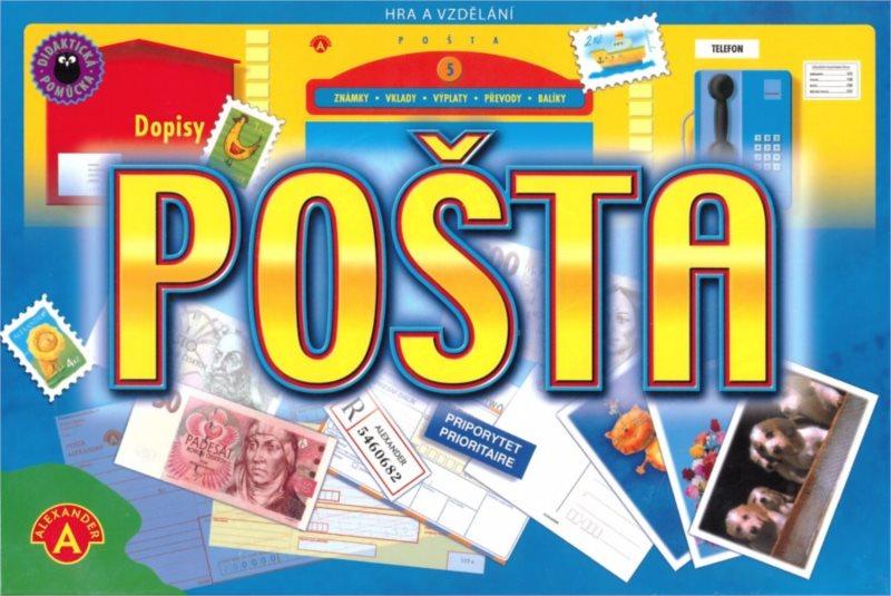 Naučná hra ALEXANDER - Pošta