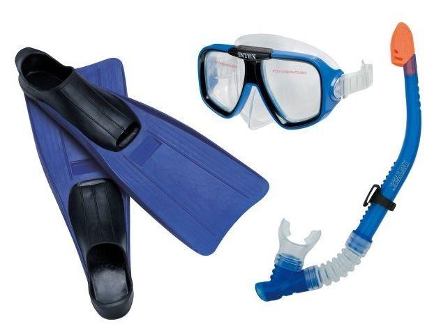 Intex 55959 potapěčská sada brýle šnorchl a ploutve vel. 38-40