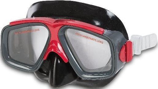 INTEX Potápěčské brýle - dvouzorníkové, červené