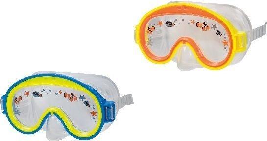 INTEX Potápěčské brýle s obrázky - jednozorníkové (mix barev)