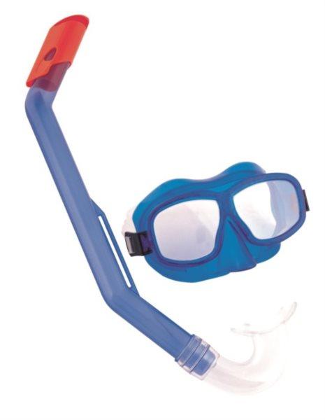 BESTWAY Potápěčské brýle + šnorchl, 7-14 let (mix)