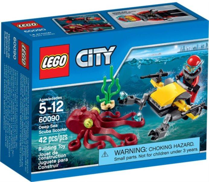 Stavebnice LEGO® City – 60090 Potápěčský hlubinný skútr
