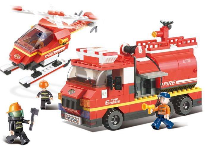 Stavebnice SLUBAN Požární pohotovost