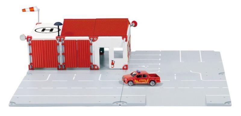 SIKU World 5502 Požární stanice + dárek